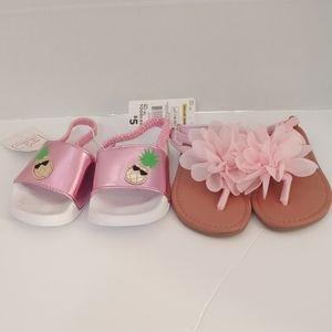 Pair of Toddler Girls Sandels - Pink
